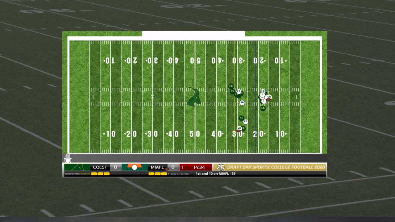 Draft Day field
