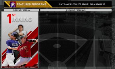 diamond dynasty first inning program splash
