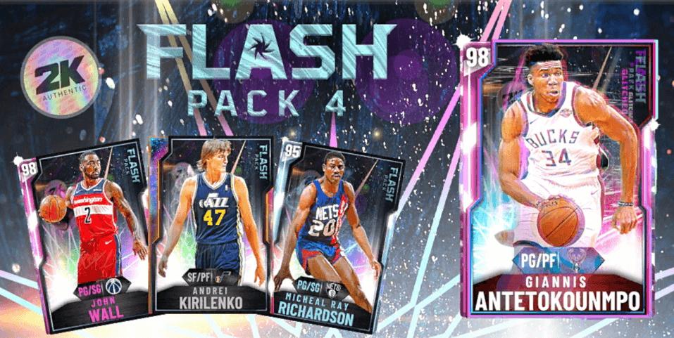 myteam flash pack 4 splash