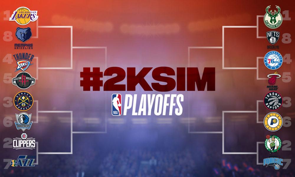 NBA 2K20 Simulates First Round Of NBA Playoffs