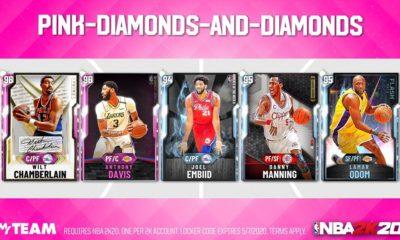 pink diamond locker code nba 2k20 myteam