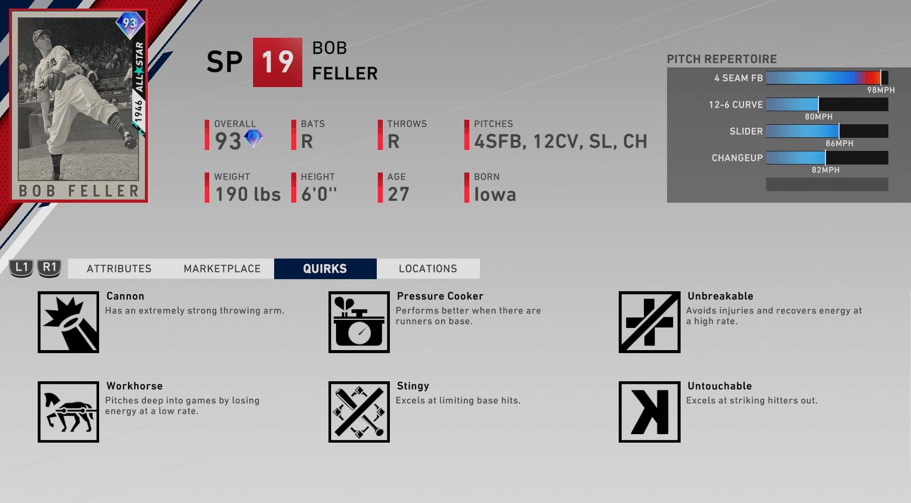 second-inning-program-bob-feller-quirks