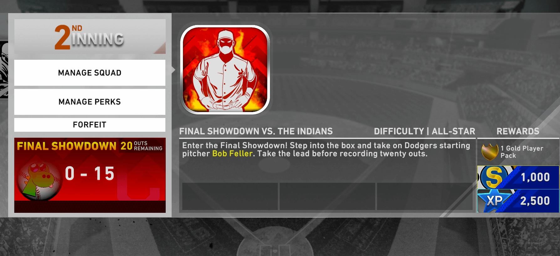 second inning showdown final boss