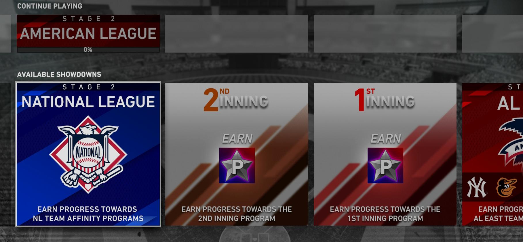 team affinity stage 2 showdown