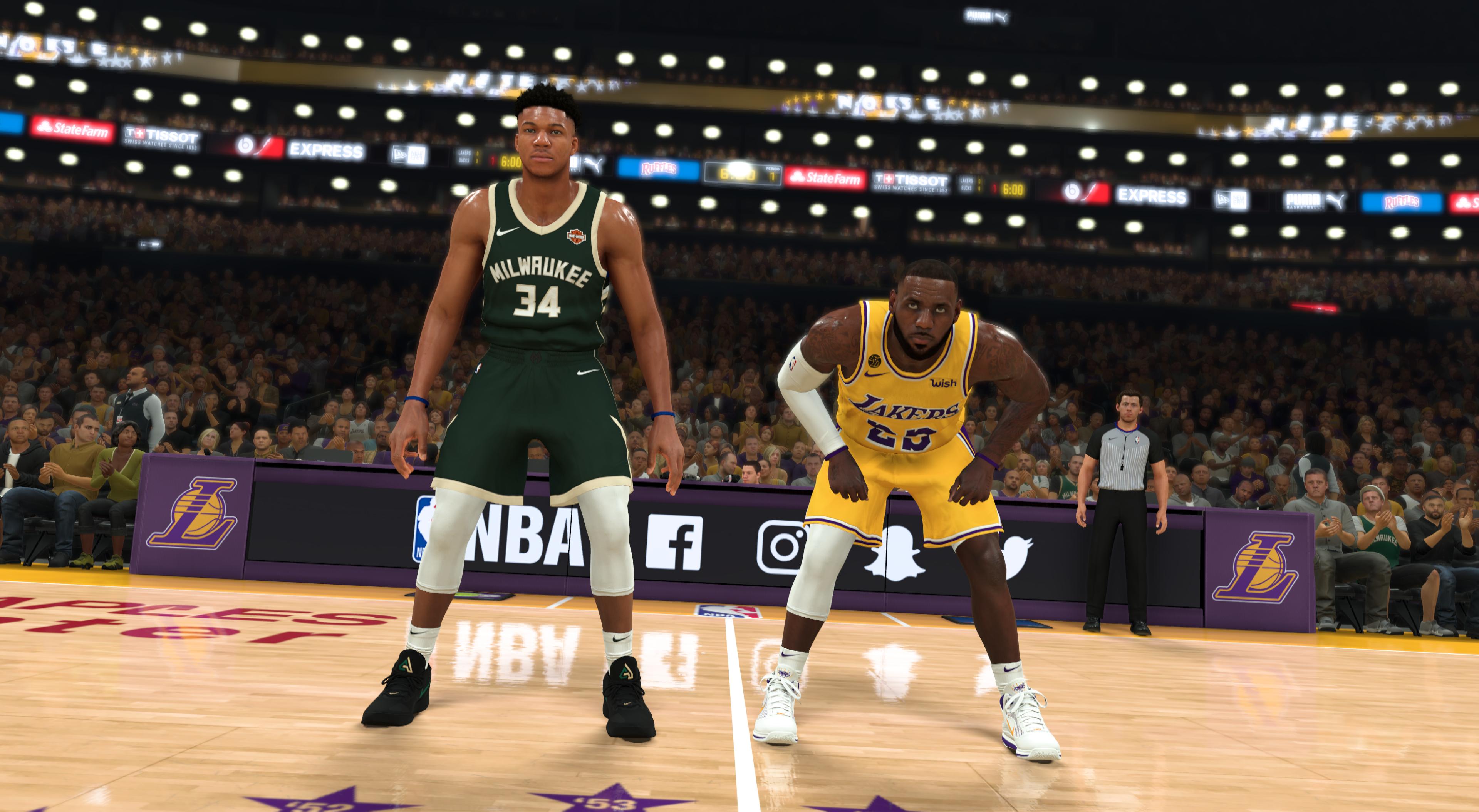 NBA 2K20 #2KSim Conference Finals - LeBron v Giannis