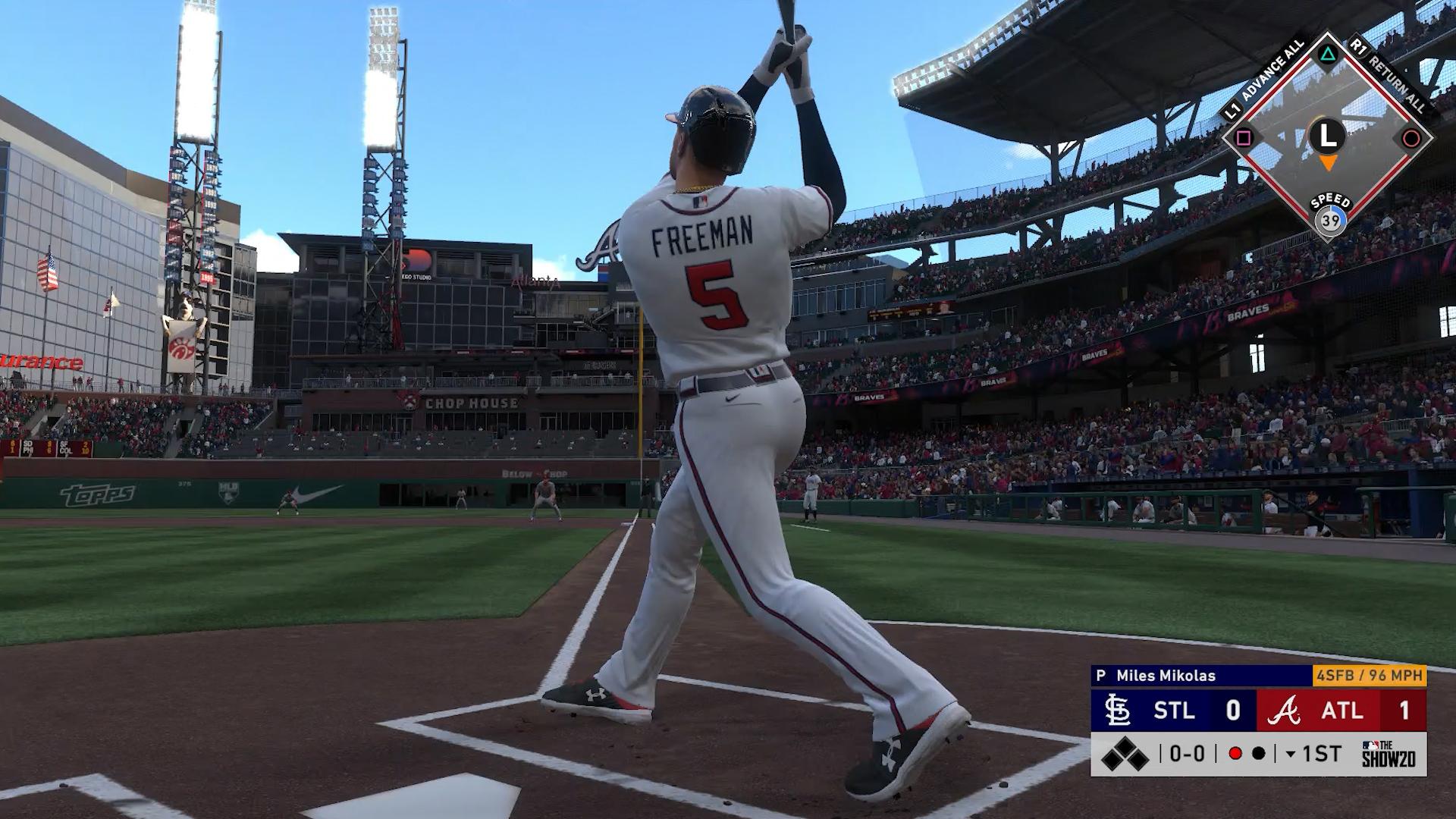 braves home run swings