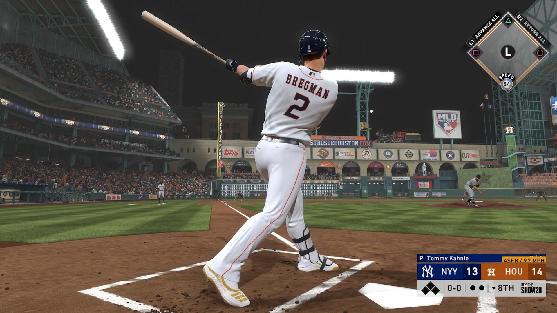 astros home run swings