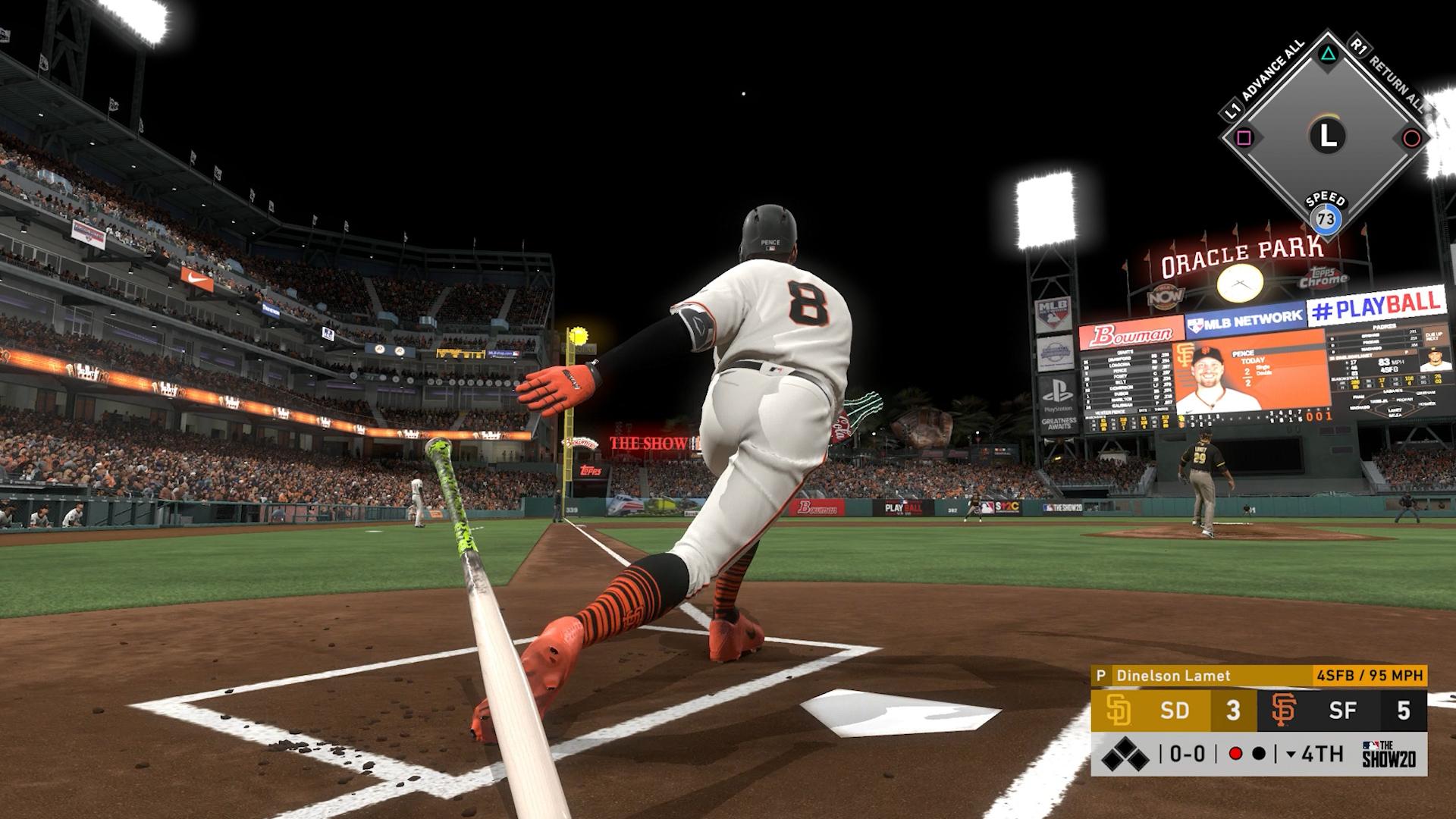 giants home run swings