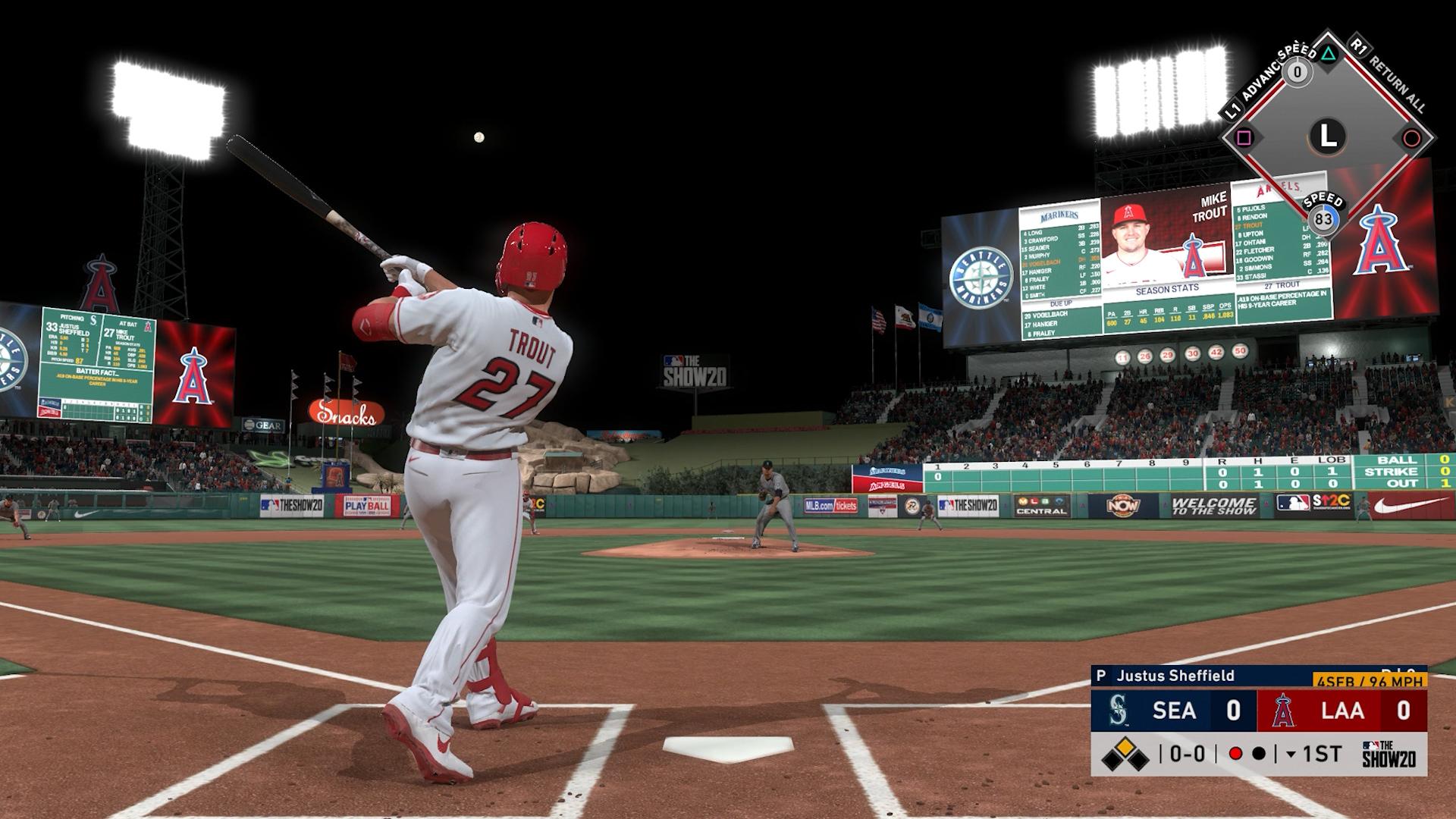 angels home run swings