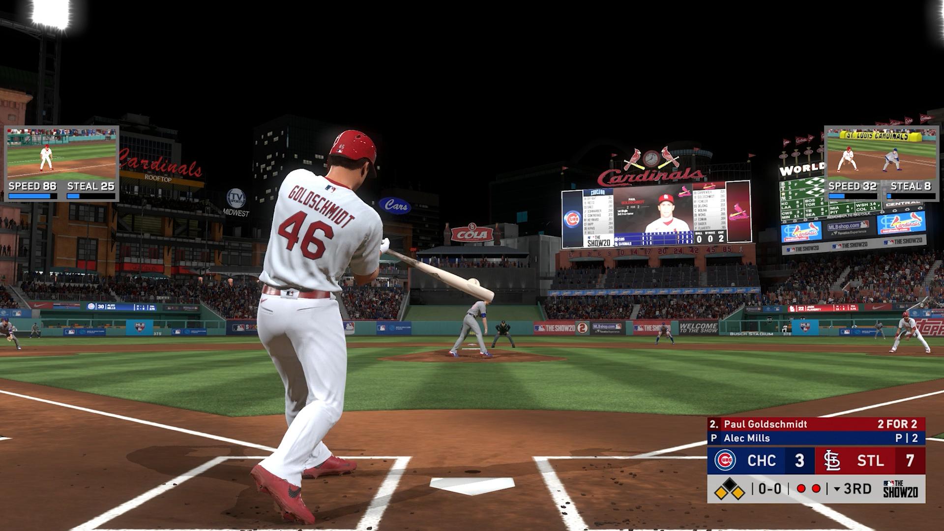cardinals home run swings