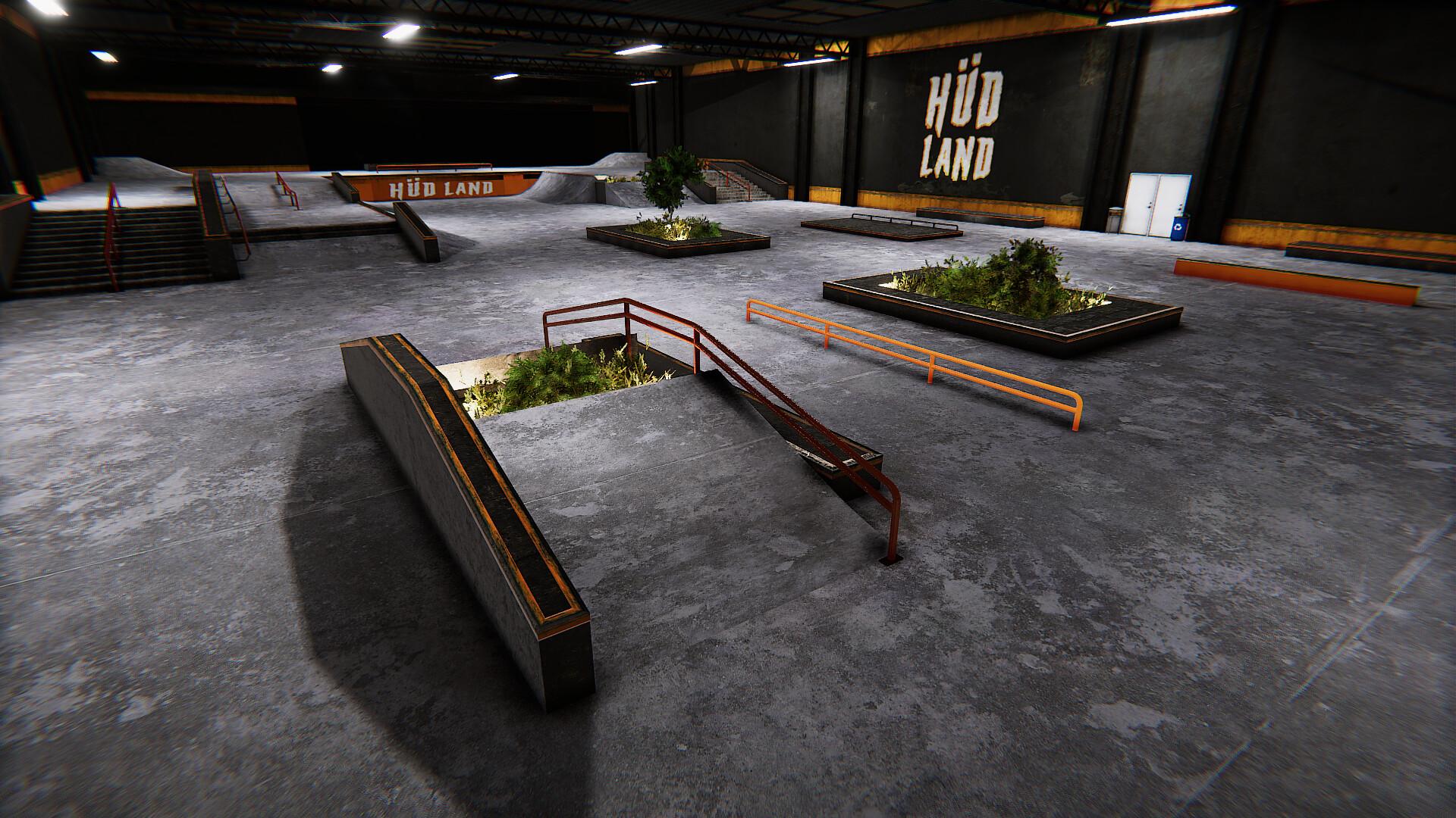custom map skateboarding