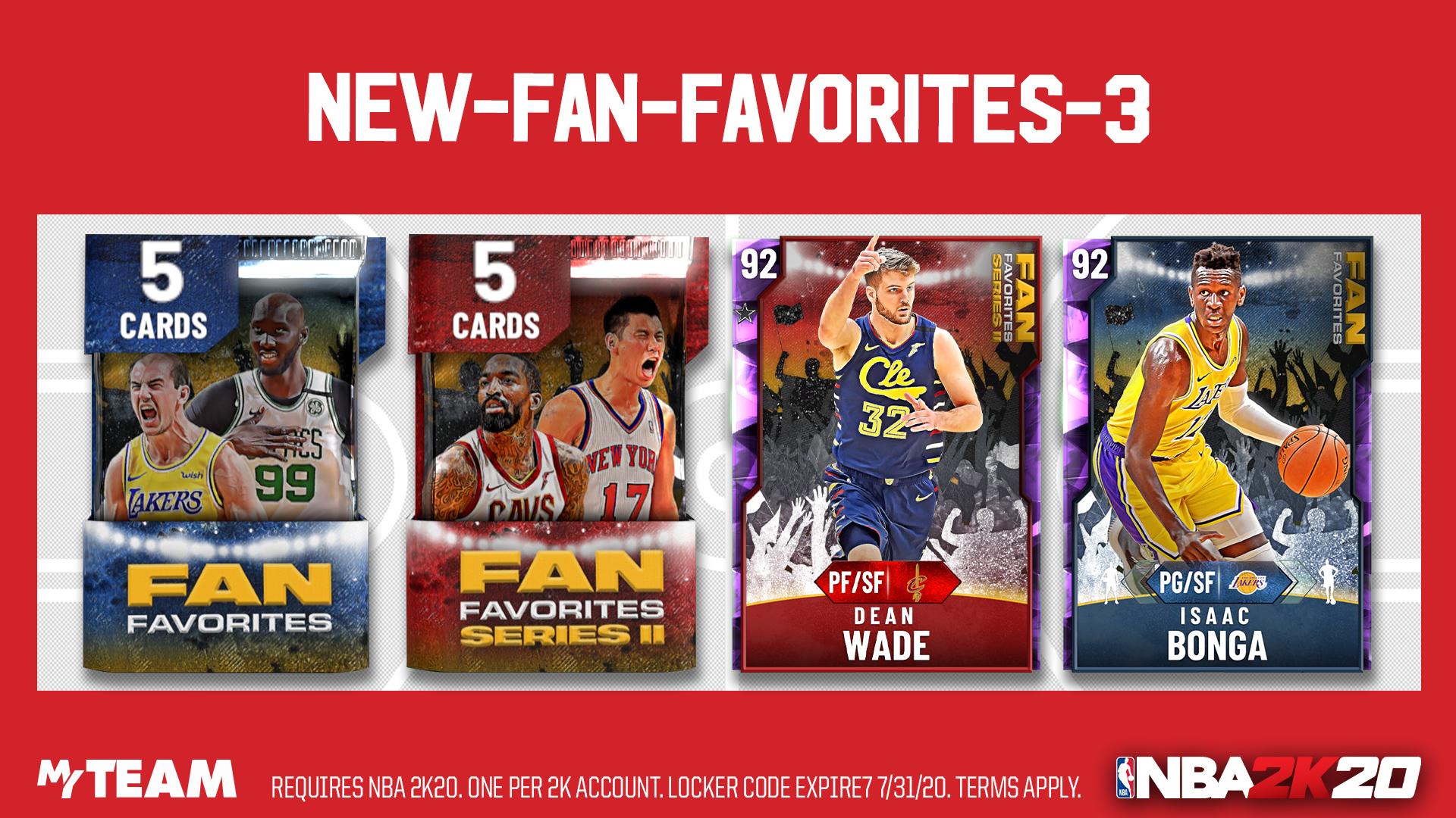 fan favorites series 3