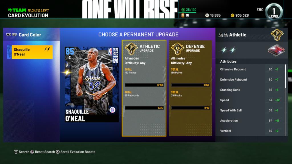 NBA-2K21- MyTEAM Customizable Evolution