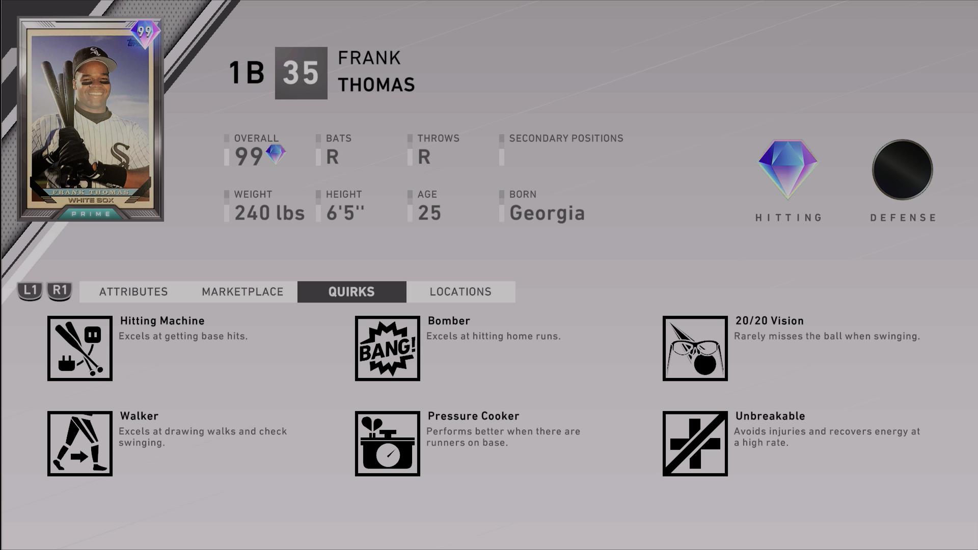 mlb-the-show-20-7th-inning-program-prime-frank-thomas-quirks