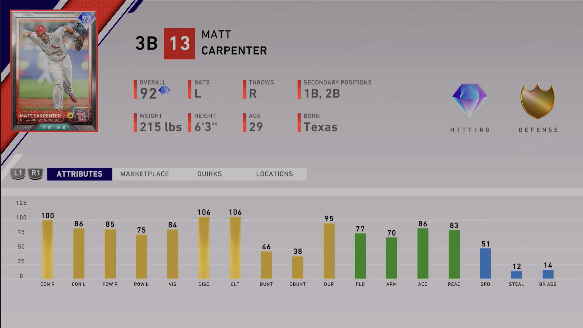 mlb-the-show-20-7th-inning-program-prime-matt-carpenter-ratings