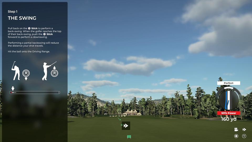 PGA2K21 Swing