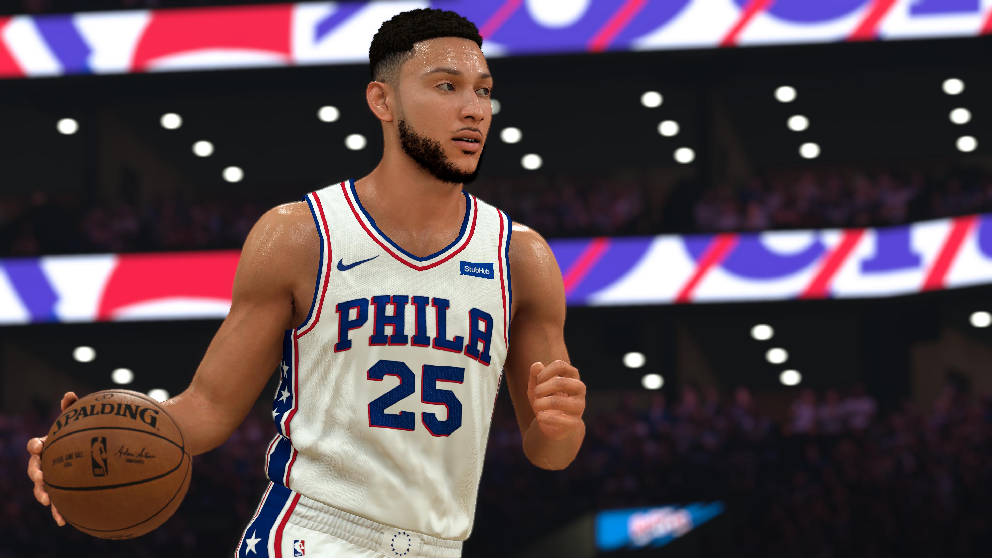 NBA-2K21 CG - Ben Simmons Dribbling