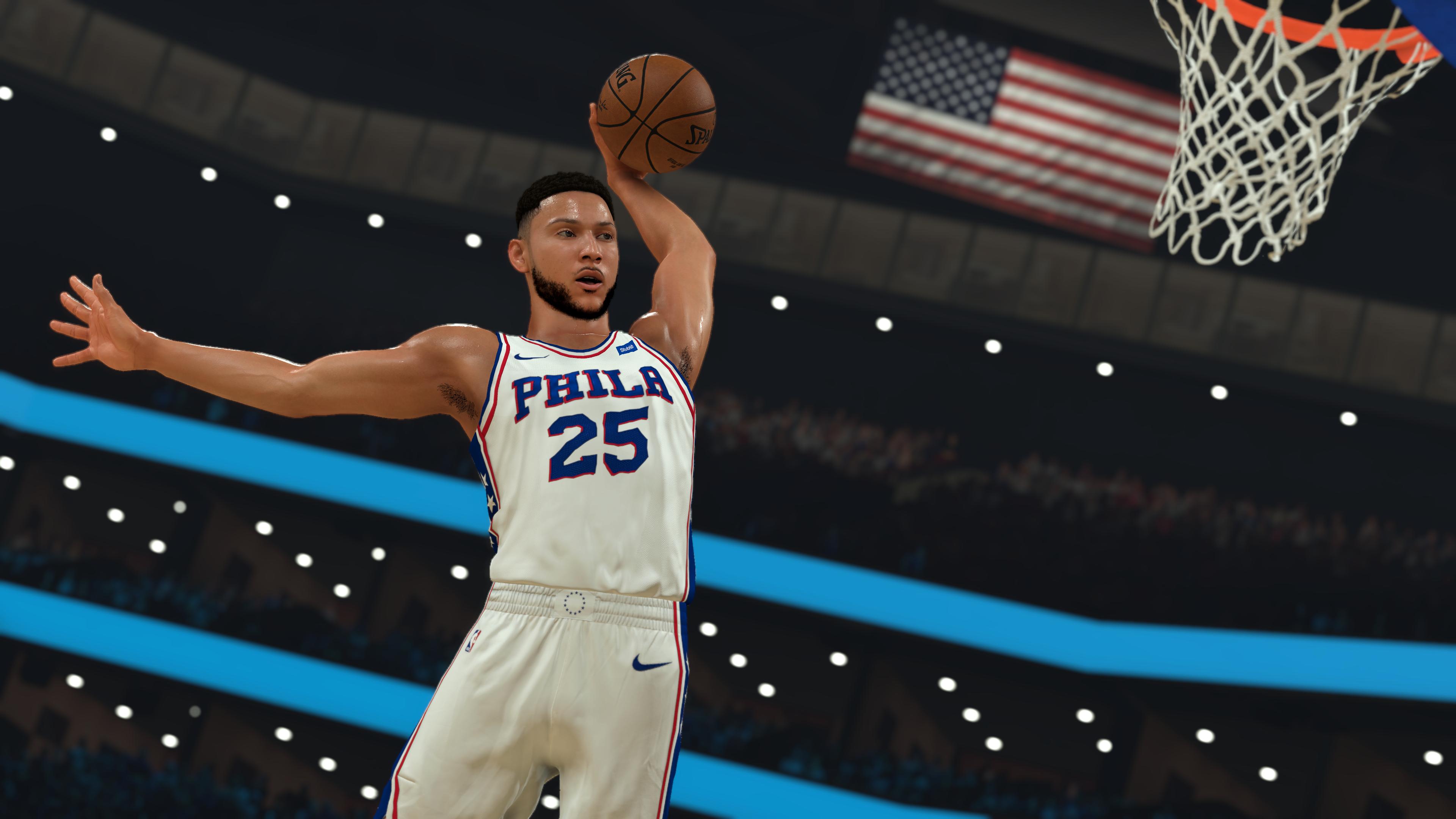 NBA-2K21 CG - Ben Simmons Dunk