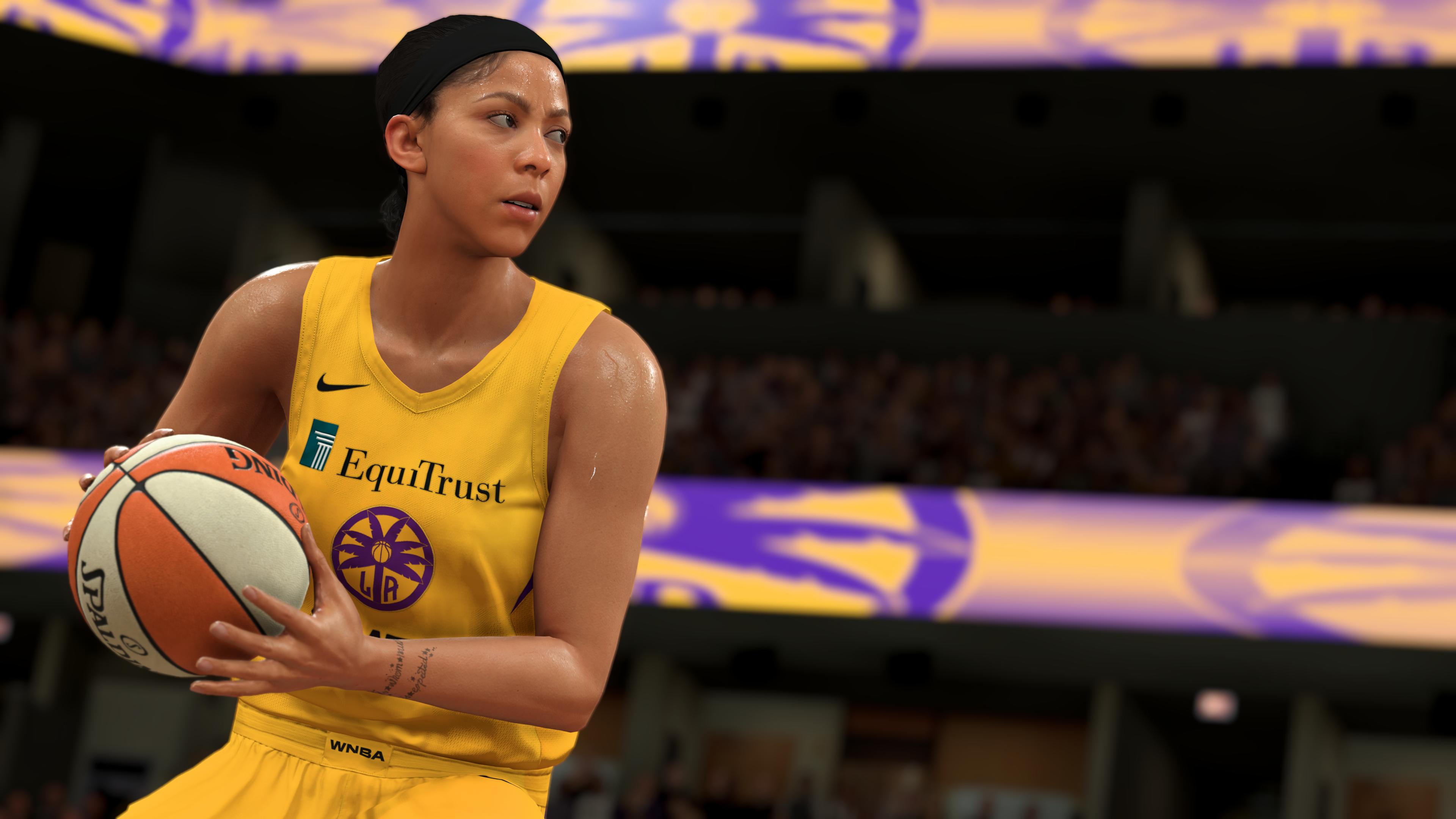 NBA-2K21 CG - Candace Parker