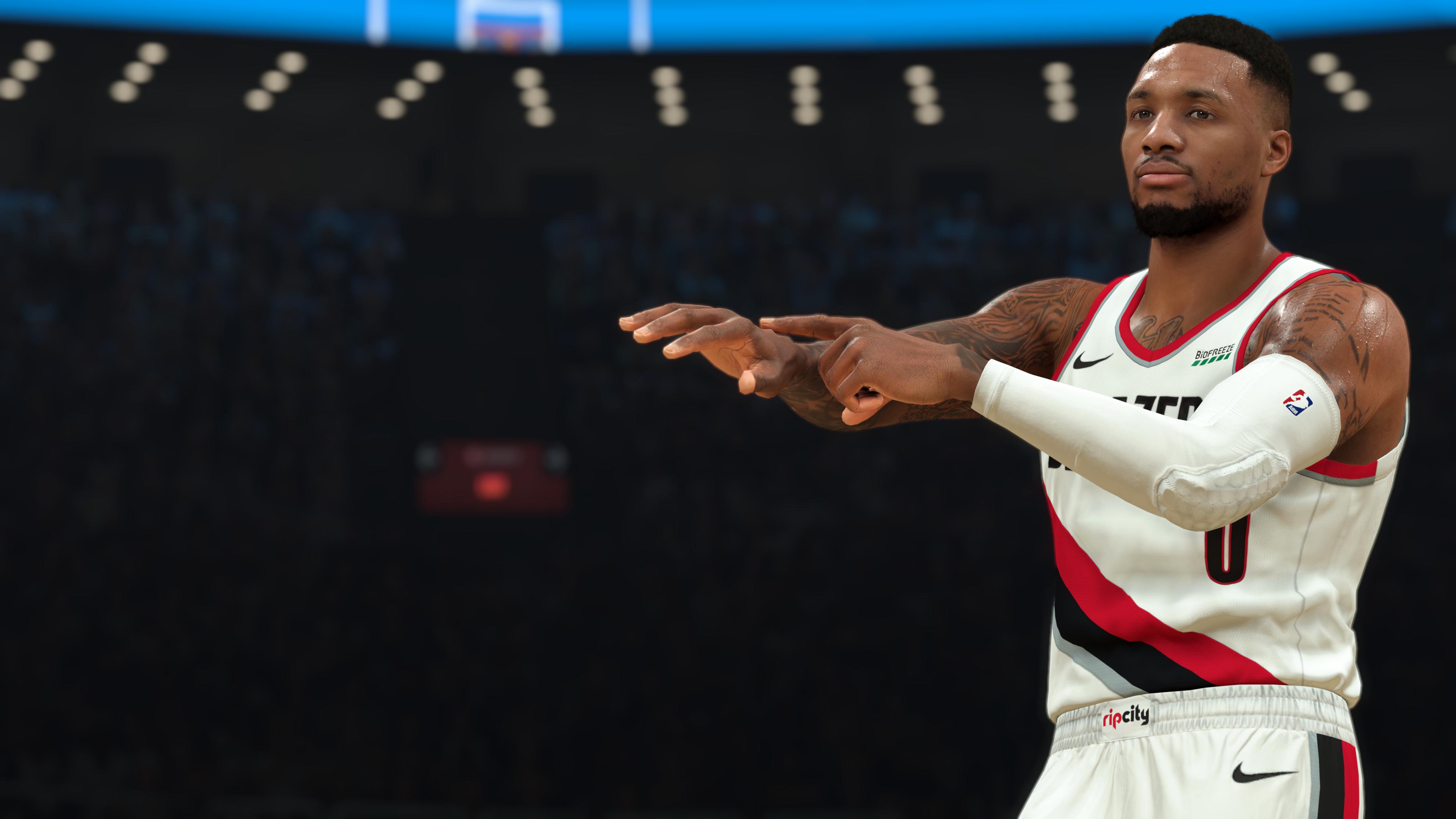 NBA-2K21 CG - It's Dame Time