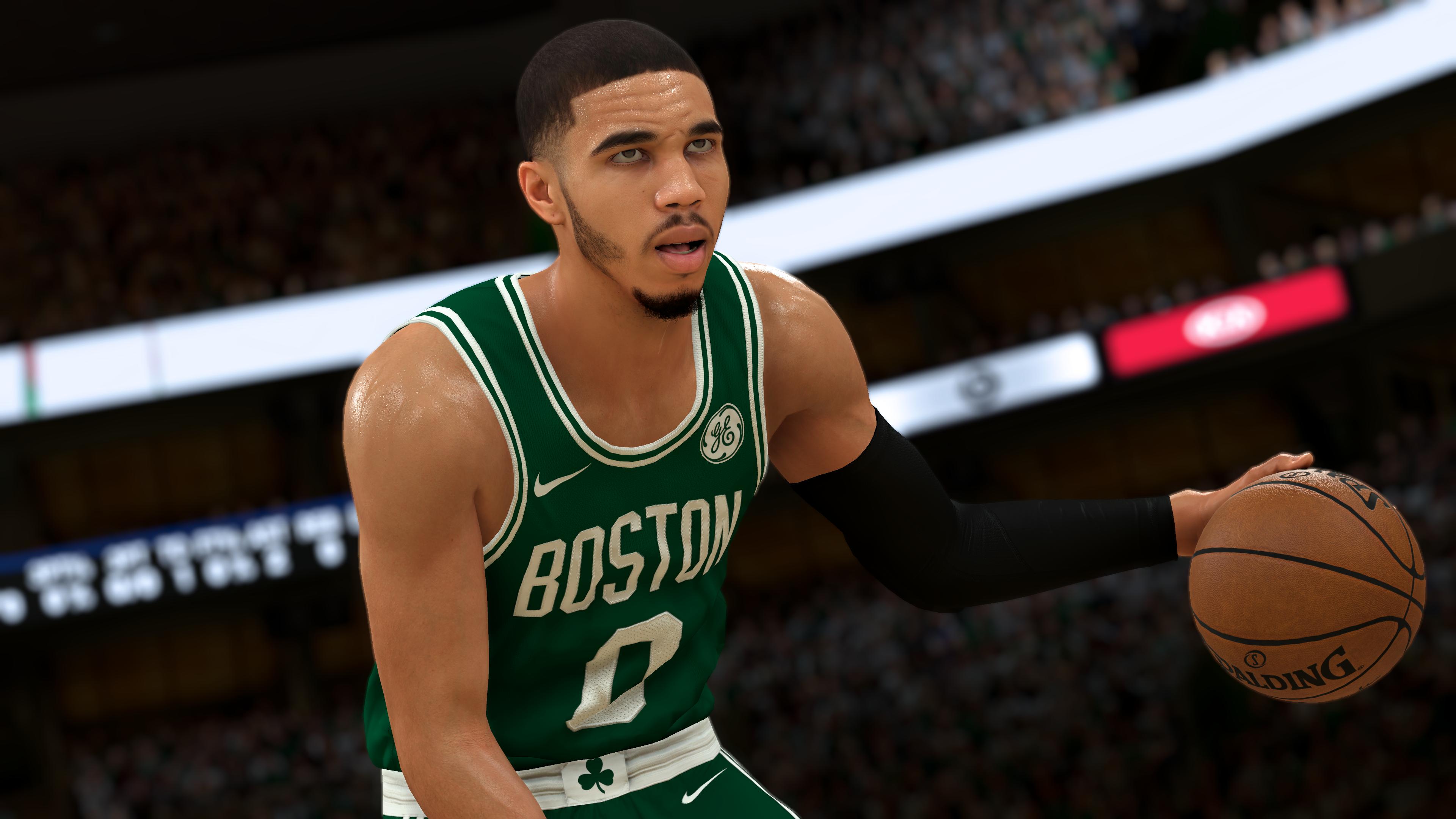 NBA-2K21 CG - Jayson Tatum Dribbling