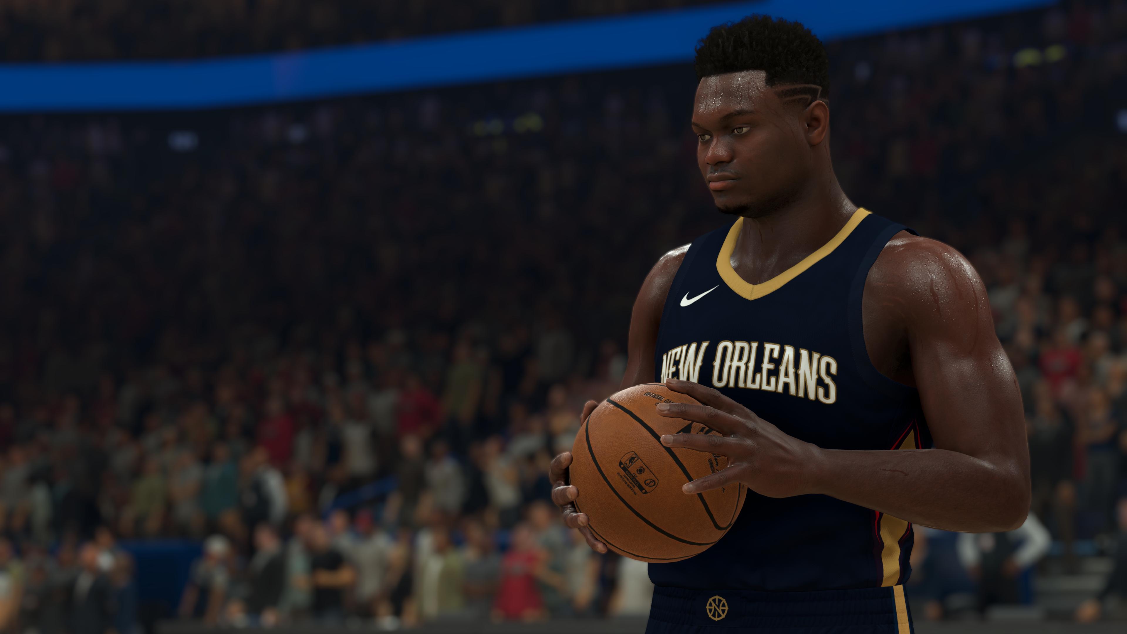 NBA-2K21 CG - Zion Williamson Check Ball