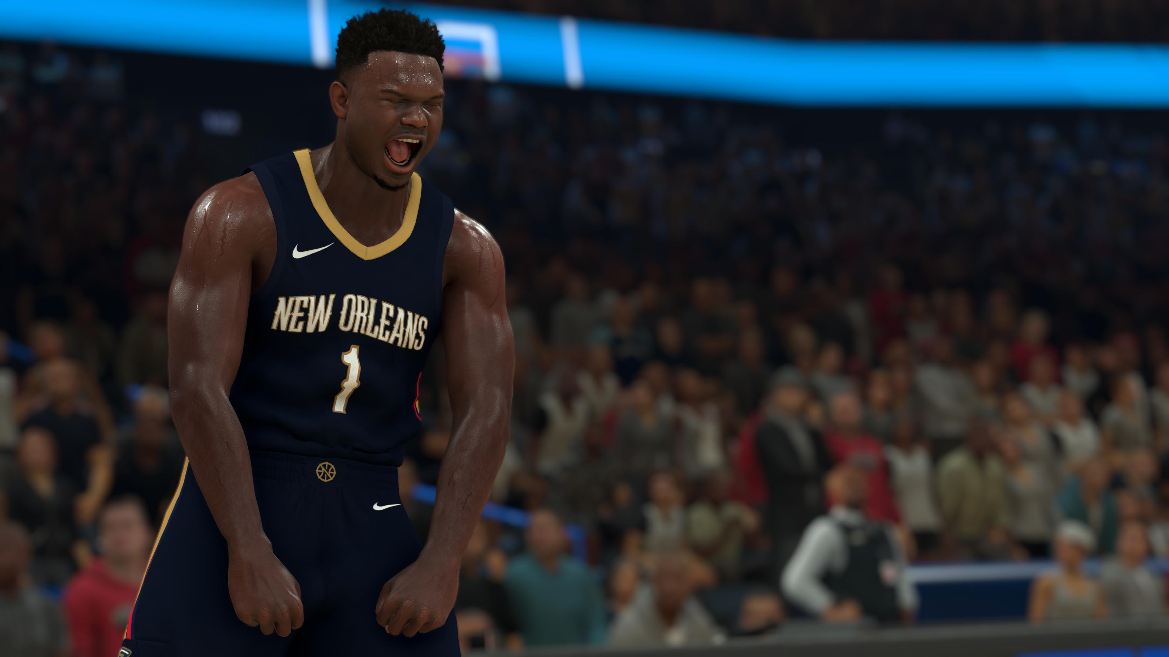 NBA-2K21 CG - Zion Williamson Flex