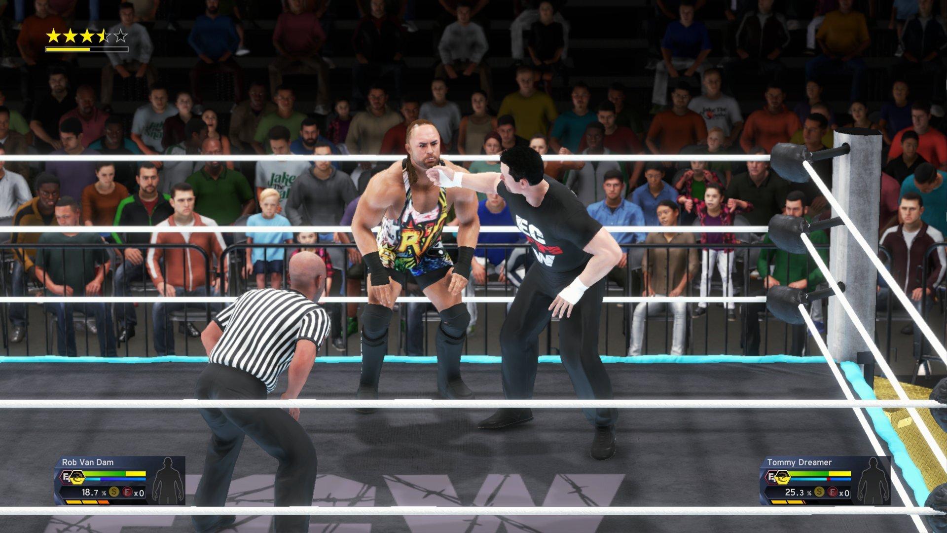 WWE 2K19 roster project - Dreamer vs. RVD
