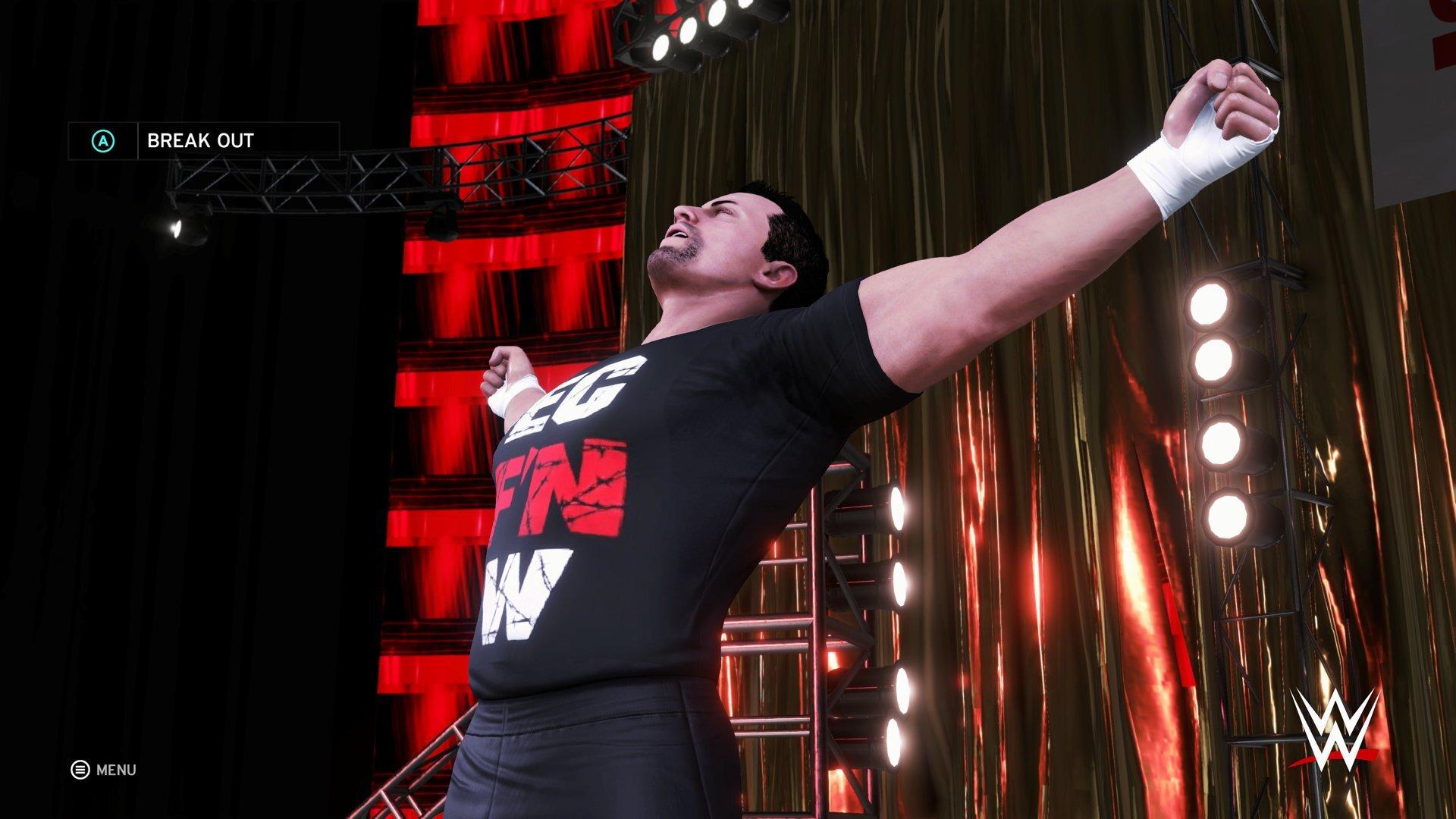 WWE 2K19 attribute project