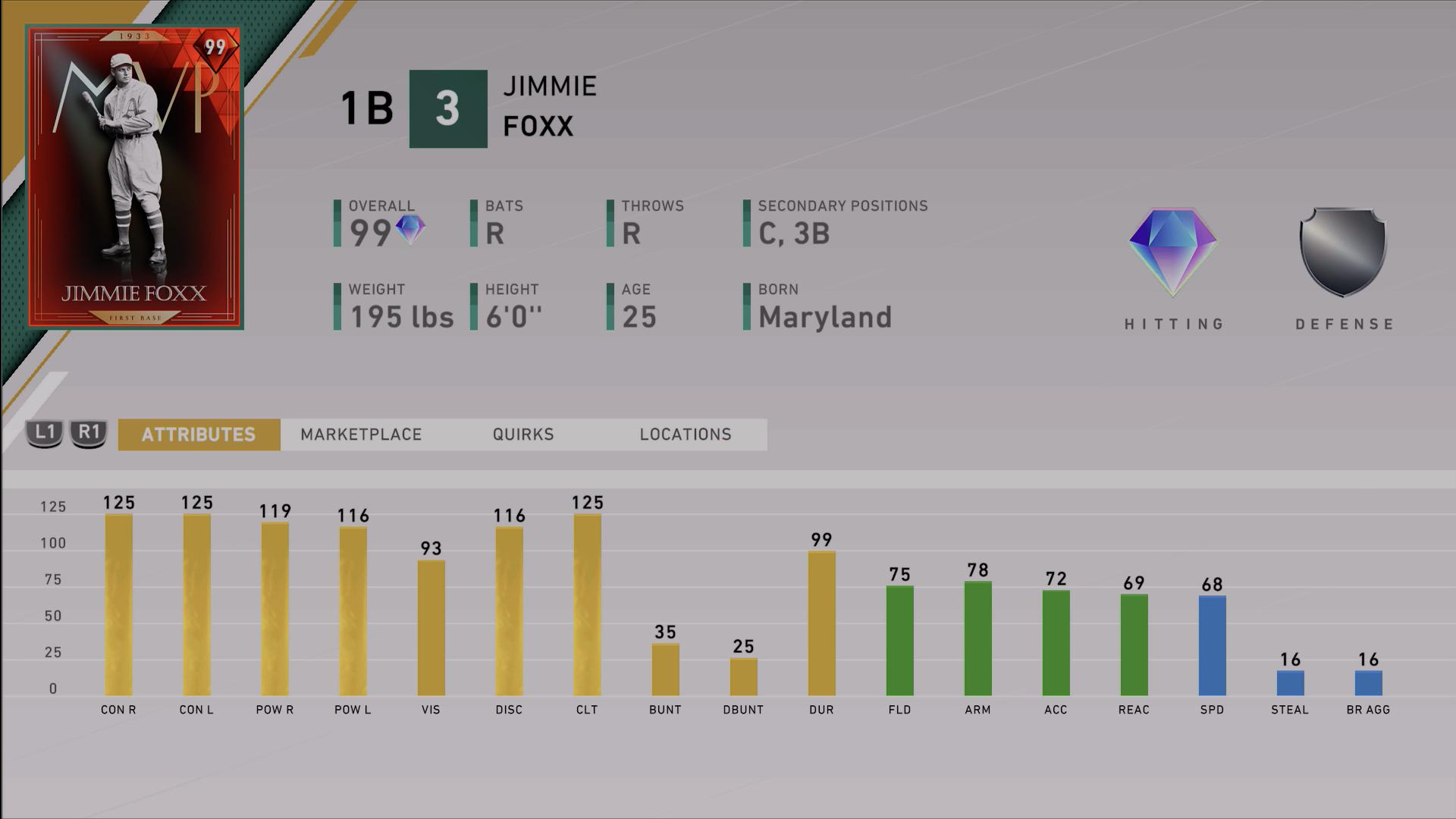 prestige jimmie foxx