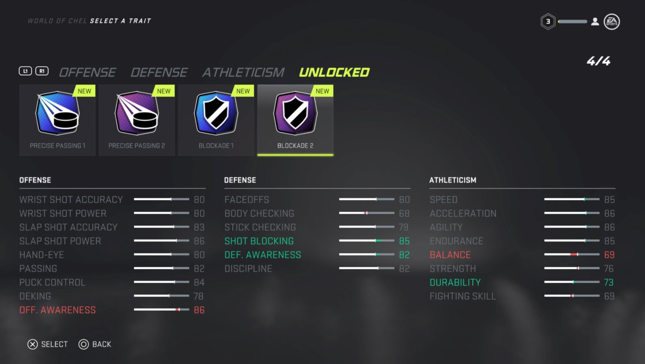player traits