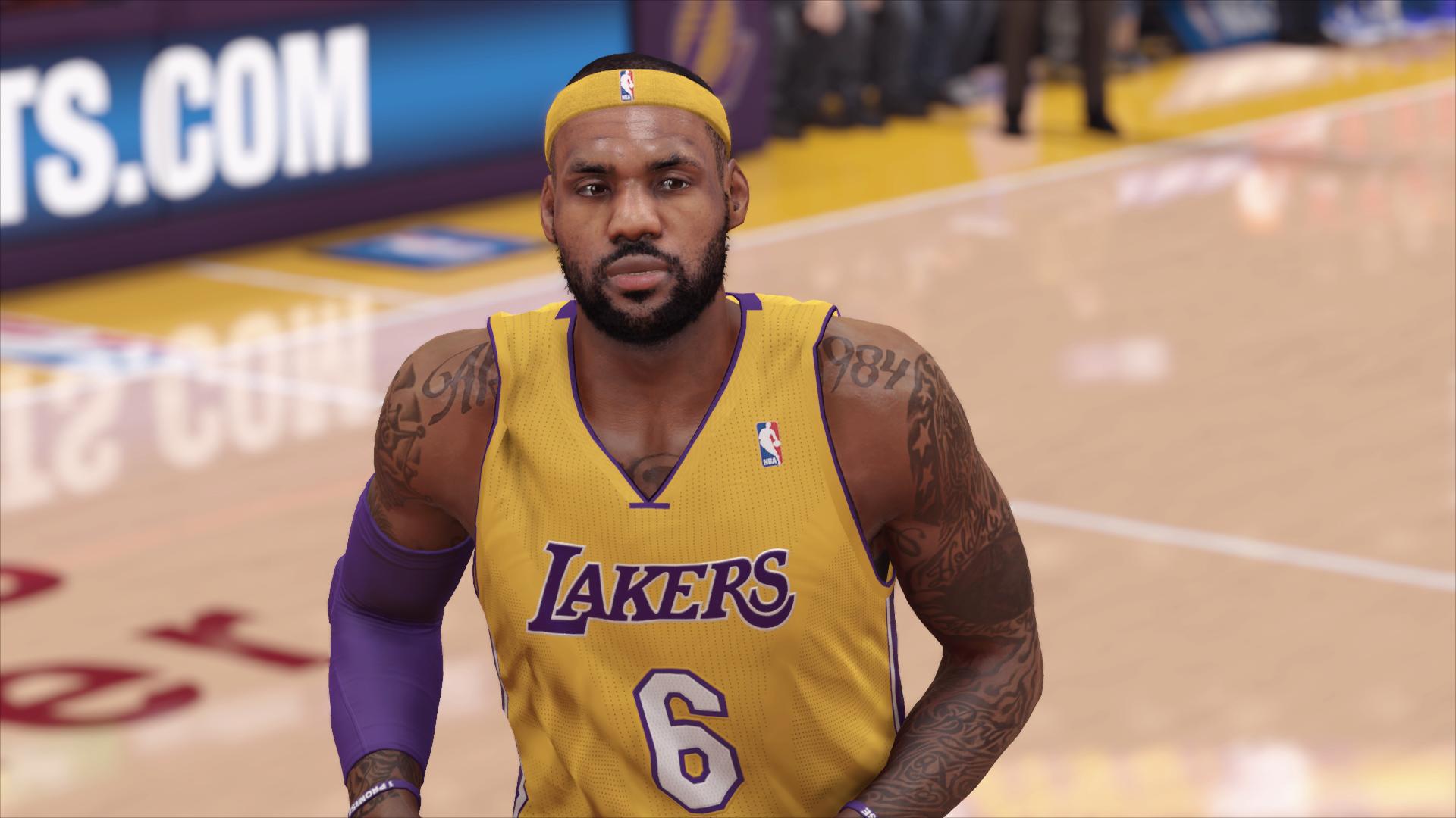 NBA 2K14 - LeBron
