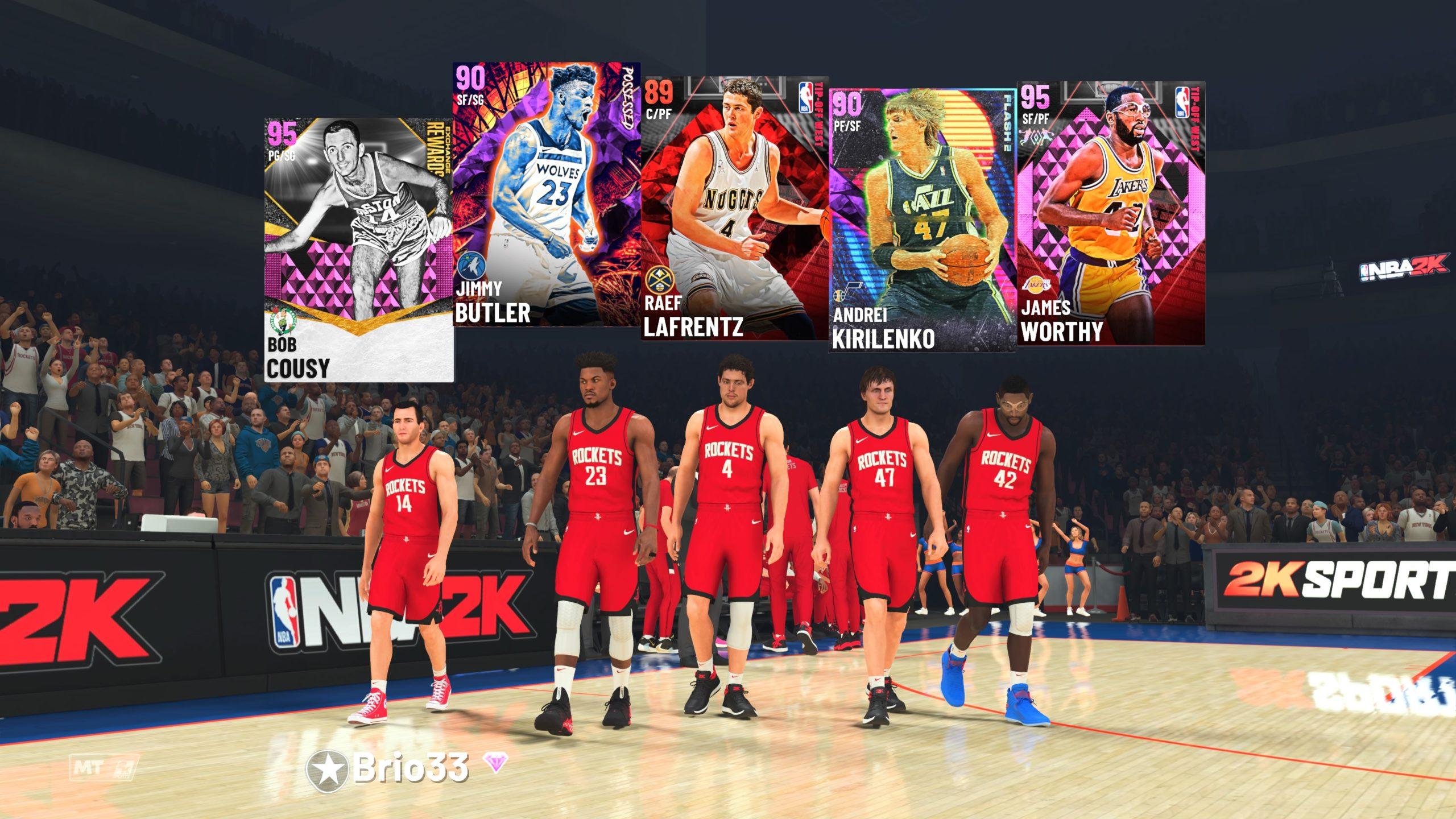 NBA 2K21 Next-Gen MyTeam