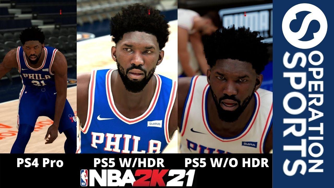 NBA 2K21 Graphics Comparison