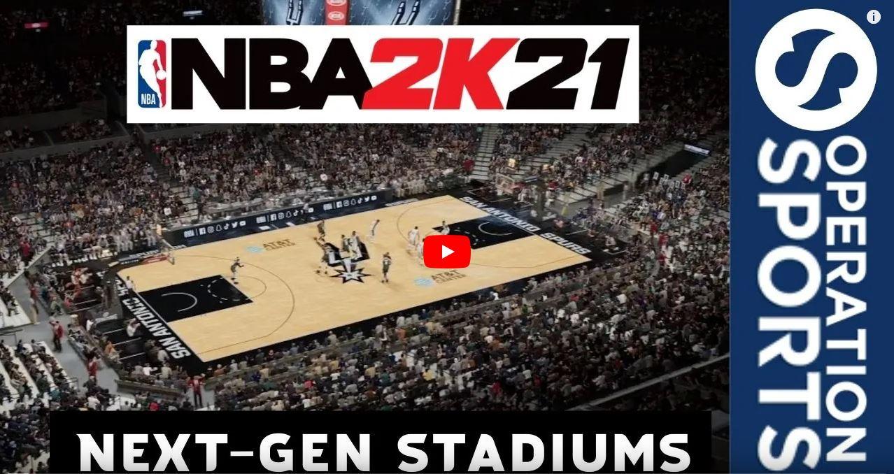 NBA 2K21 Next-Gen Stadiums