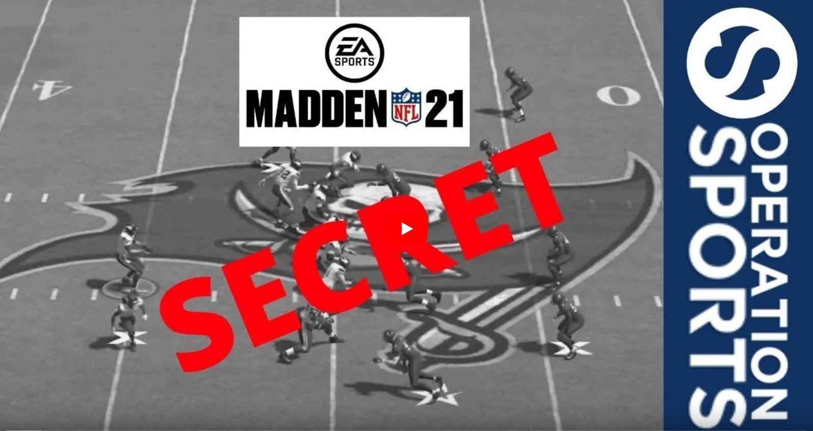 madden 21 secret broadcast camera