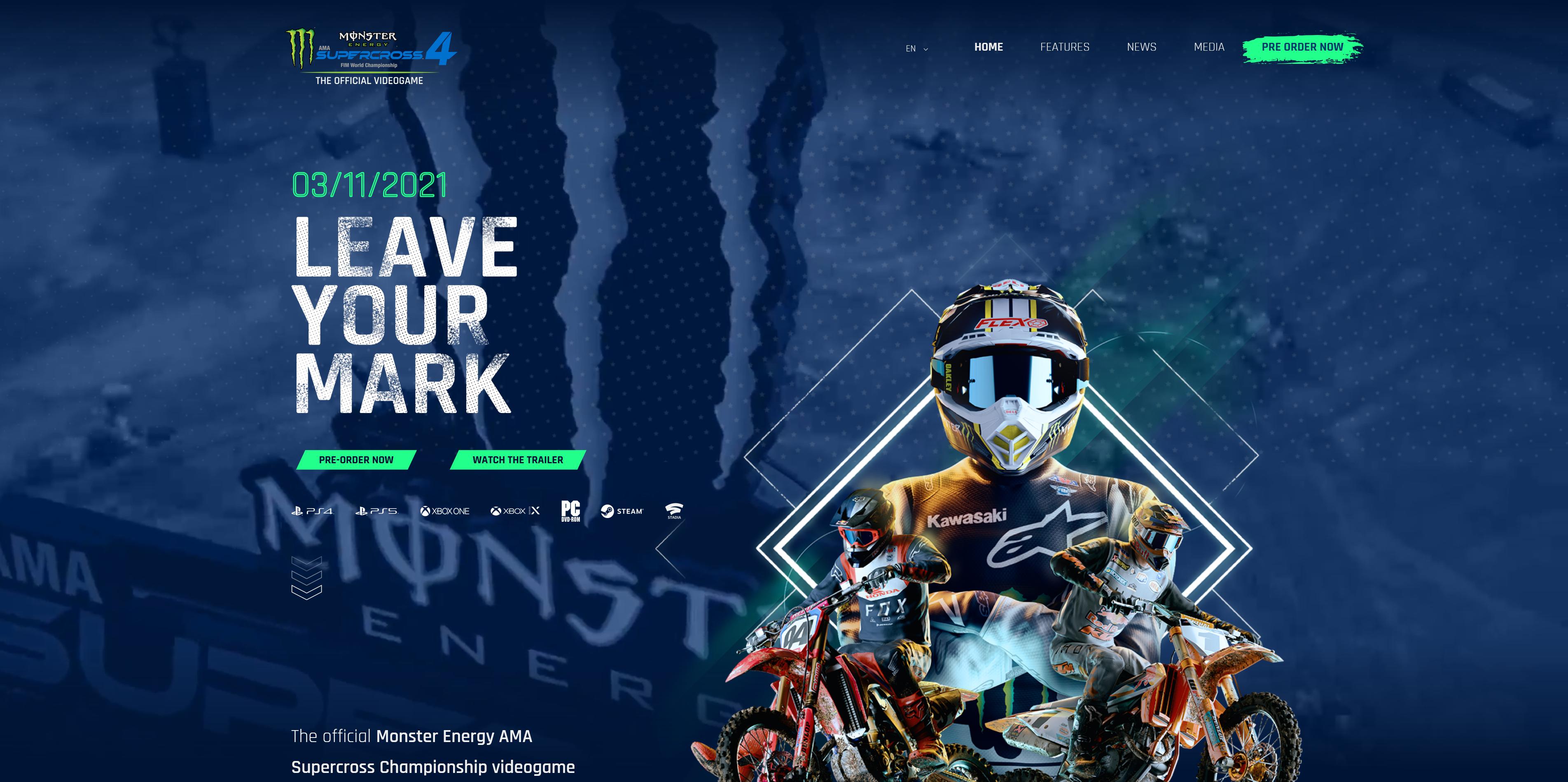 Monster Energy SuperCross 4 Preview