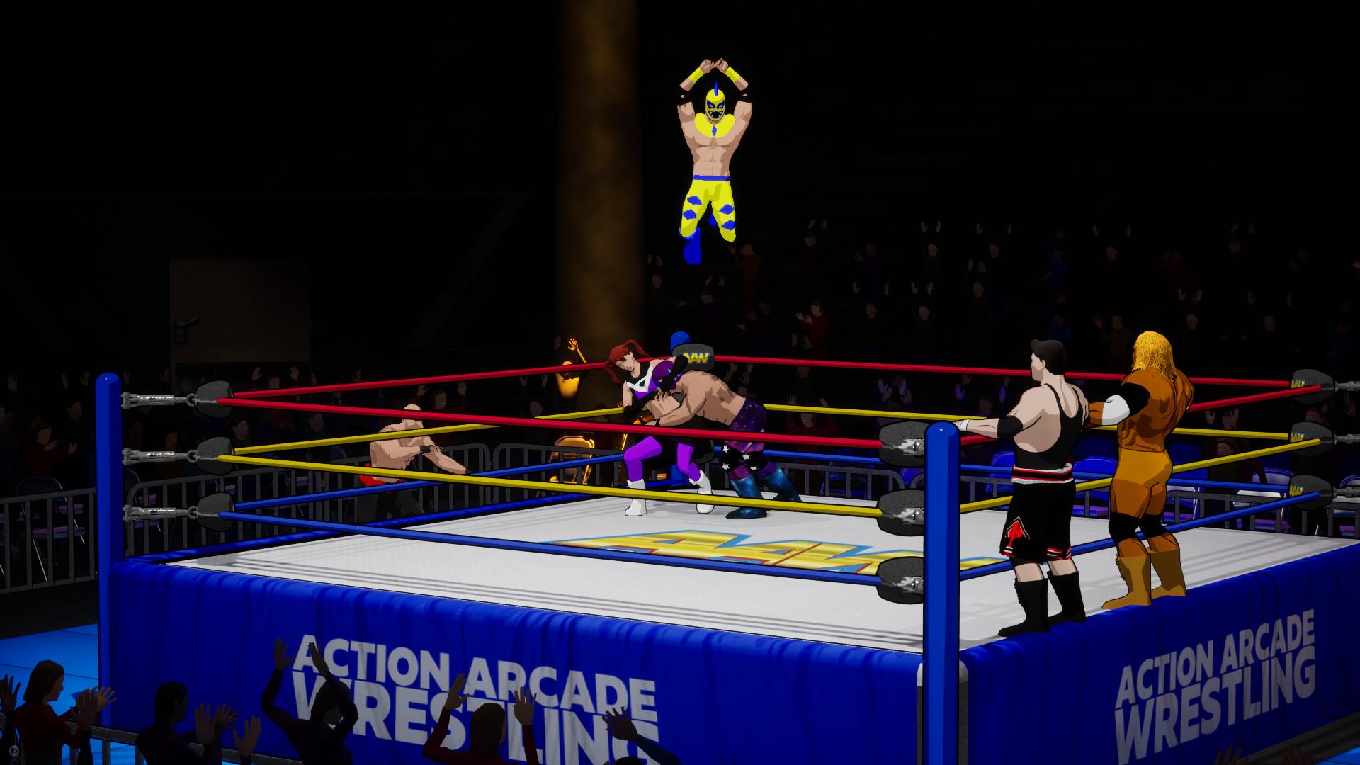 action arcade wrestling