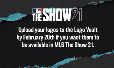 mlb the show 21 logo vault