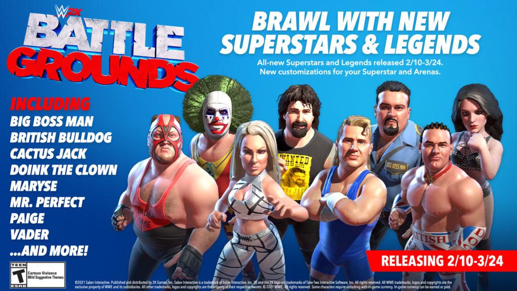 wwe 2k battlegrounds roster update2