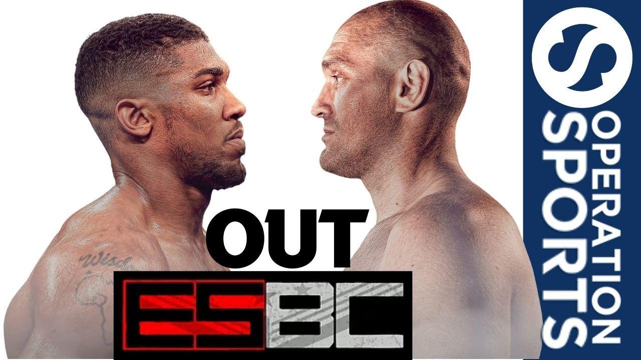 eSports Boxing Club Tyson Fury and Anthony Joshua