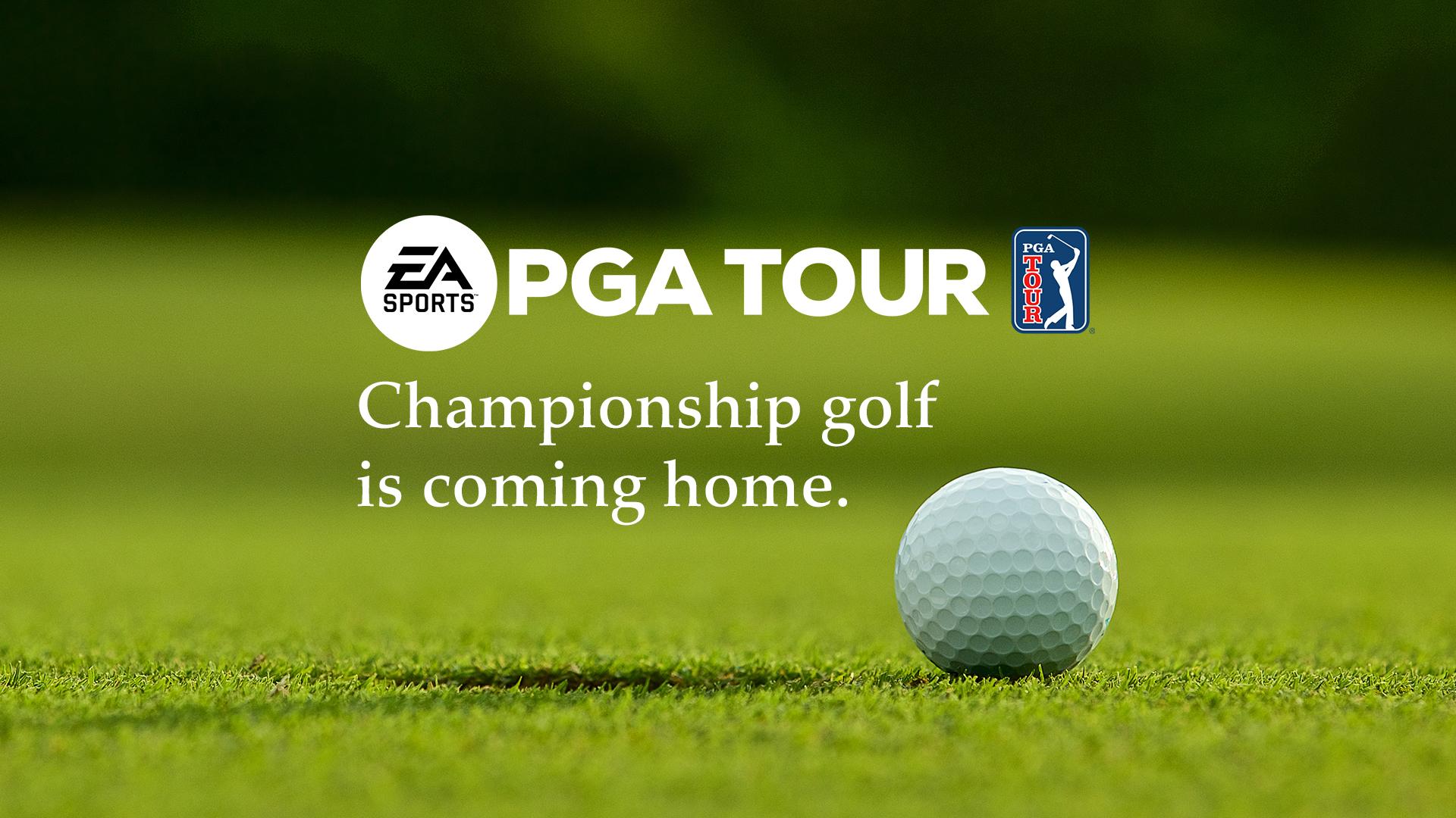 EA Sports PGA TOUR Announced
