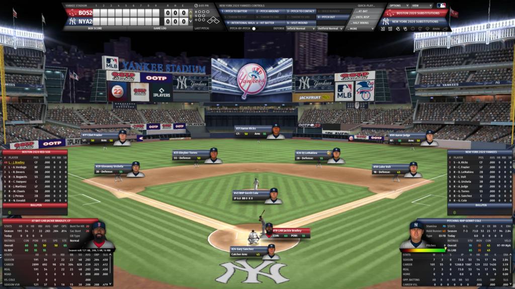 OOTP 22 gameplay