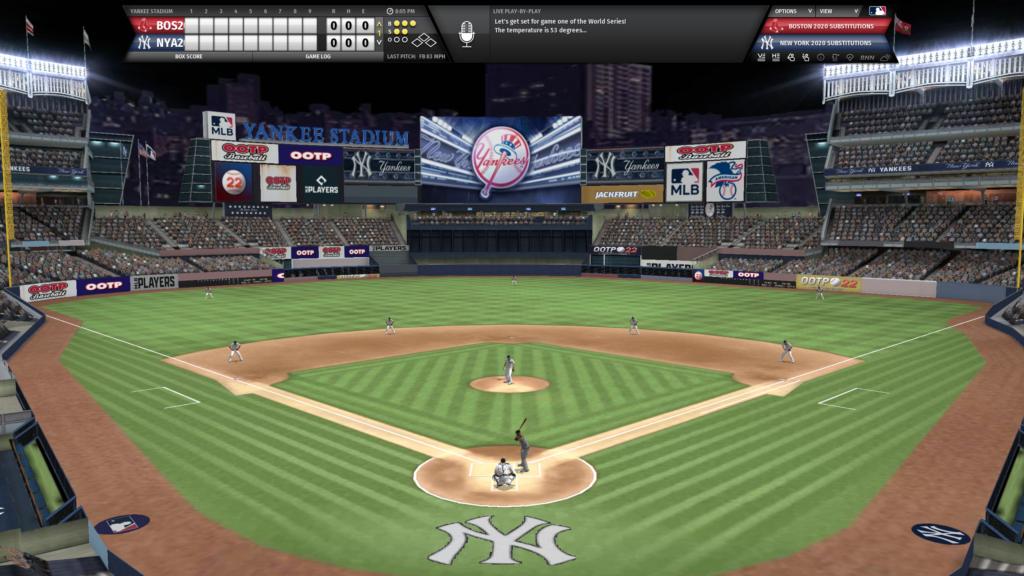 OOTP 22 Yankees Stadium