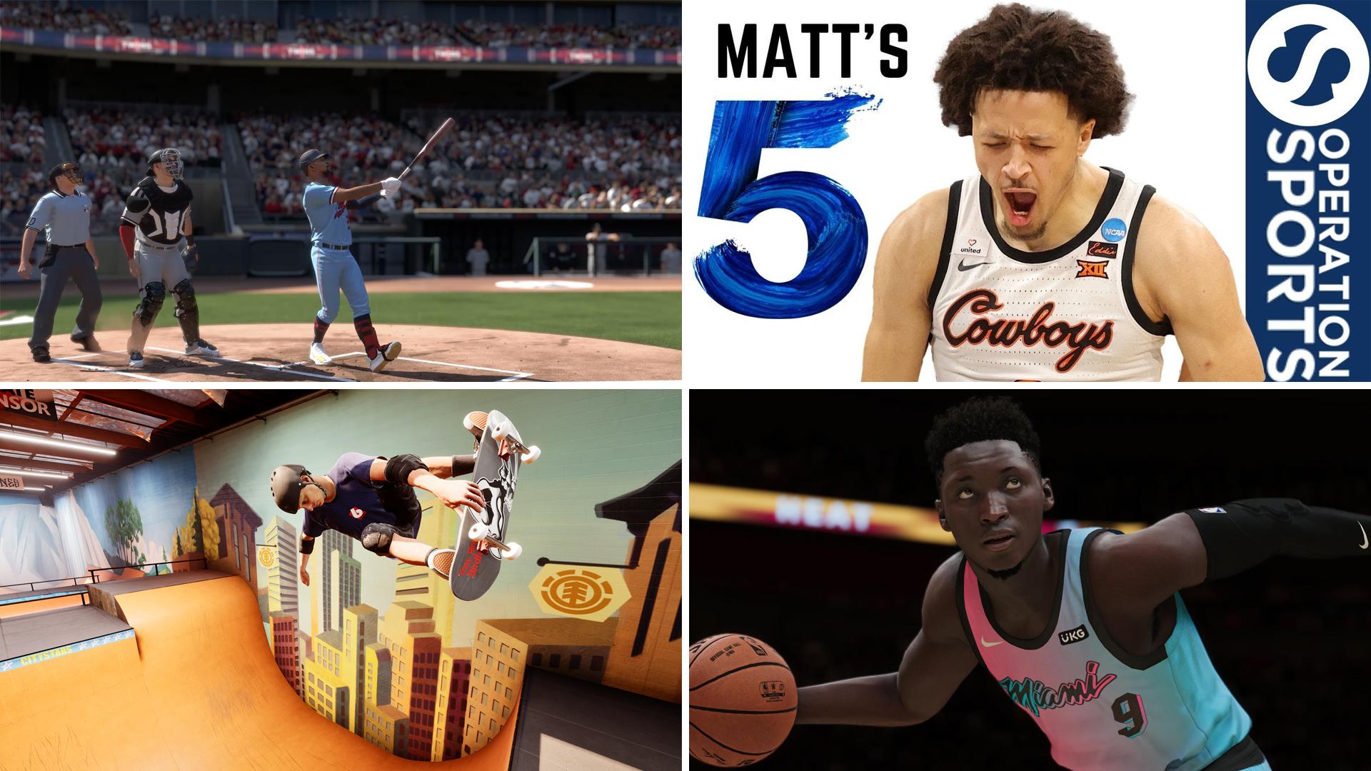 sports gaming weekly 3-28