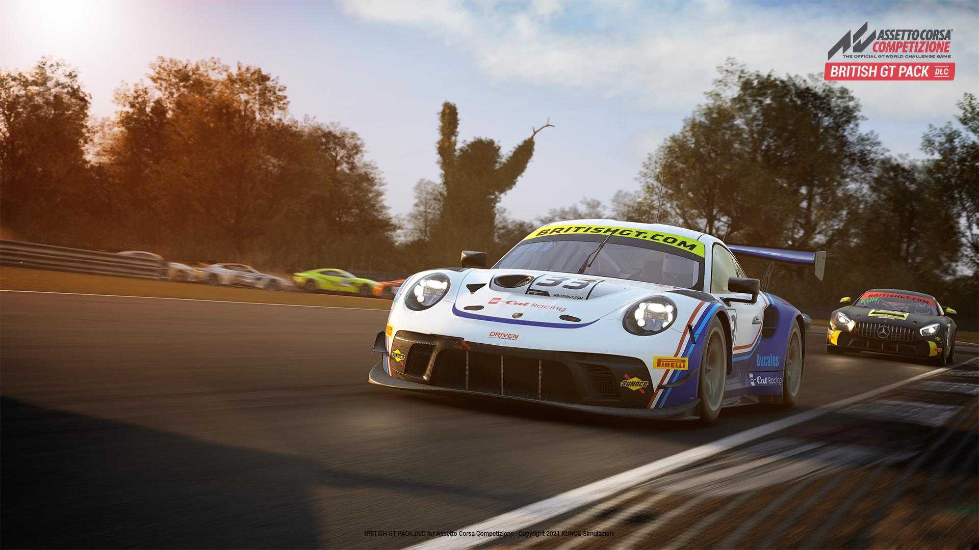 Assetto Corsa Competizione British GT Pack - 3