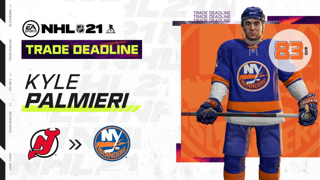 NHL 21 trade deadline - 1