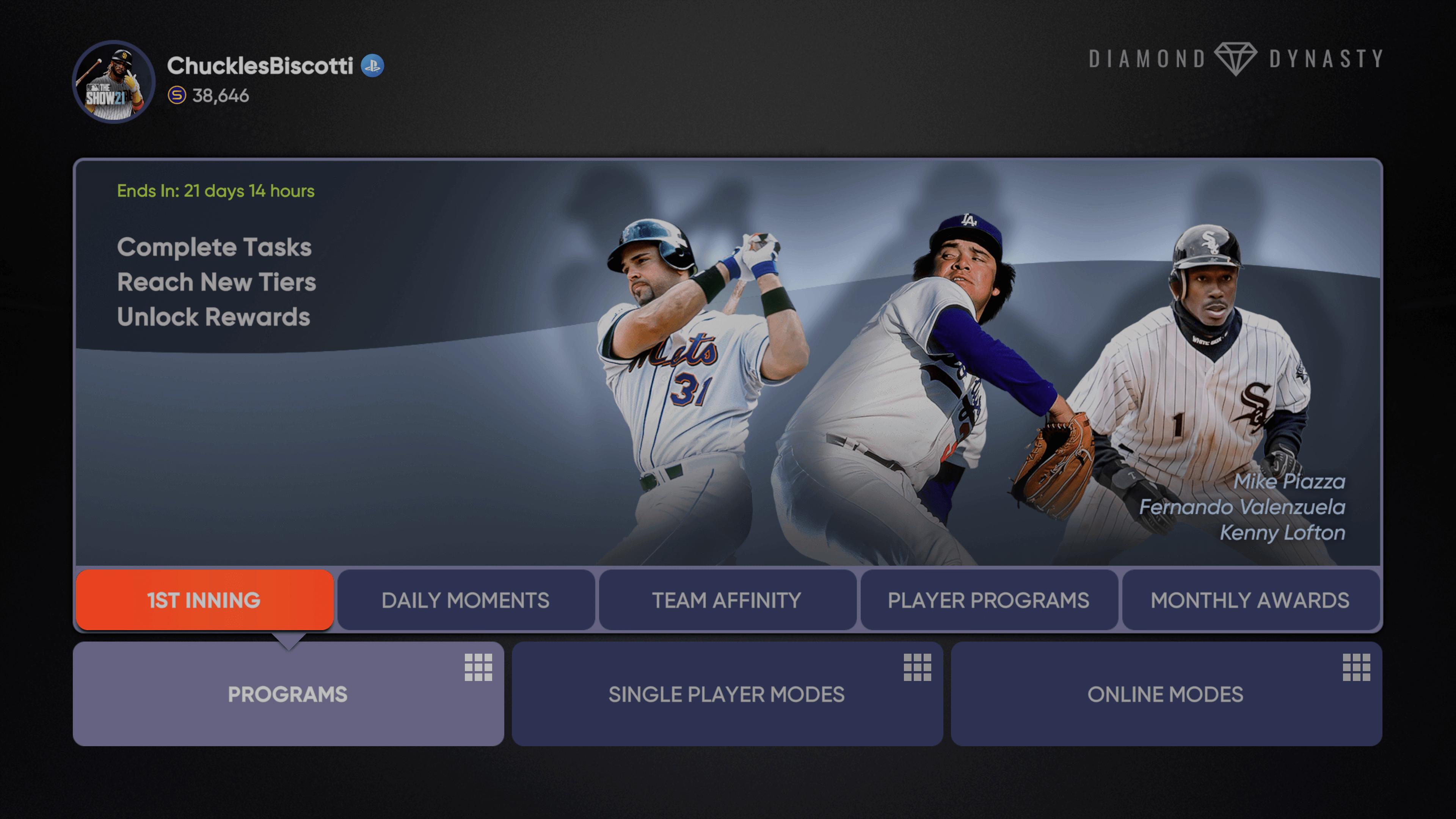 MLB The Show 21 - 1st Inning Program