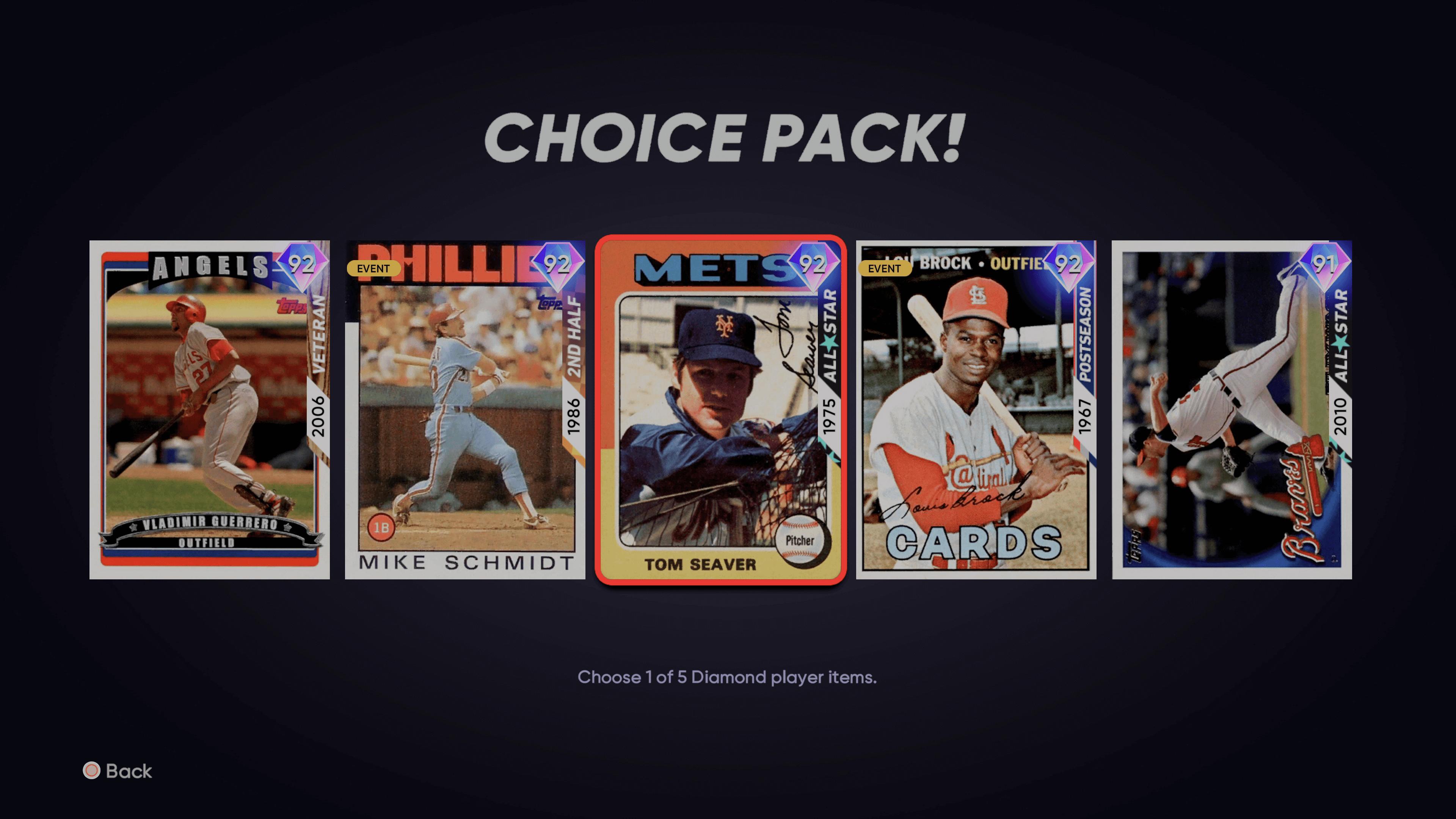 MLB The Show 21: Battle Royale Seasons 1 Rewards