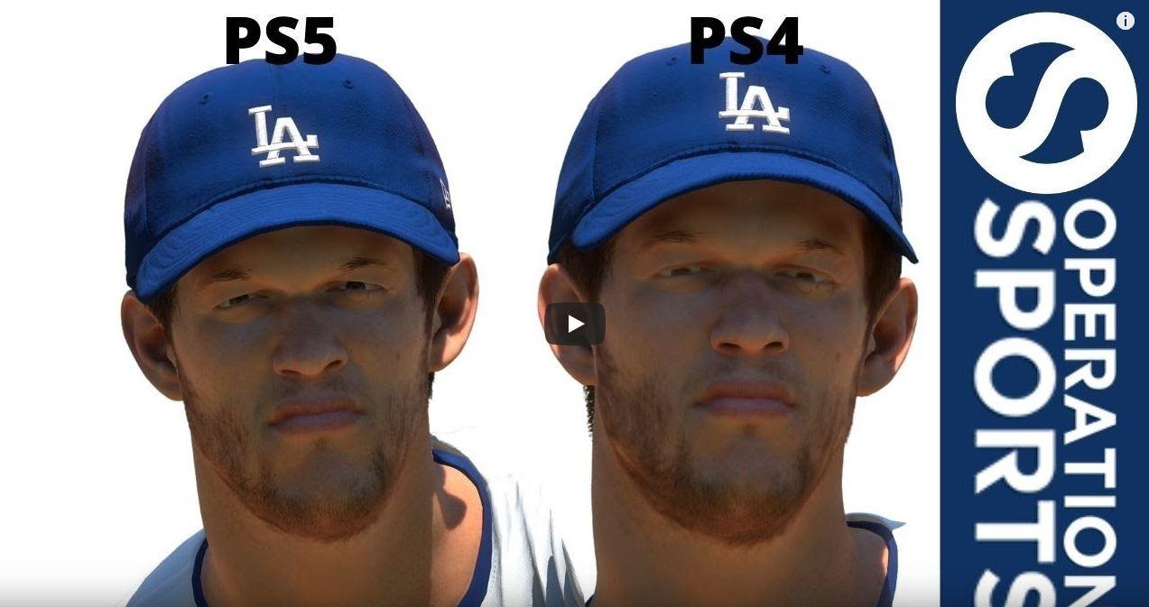 MLB The Show 21 graphics comparison